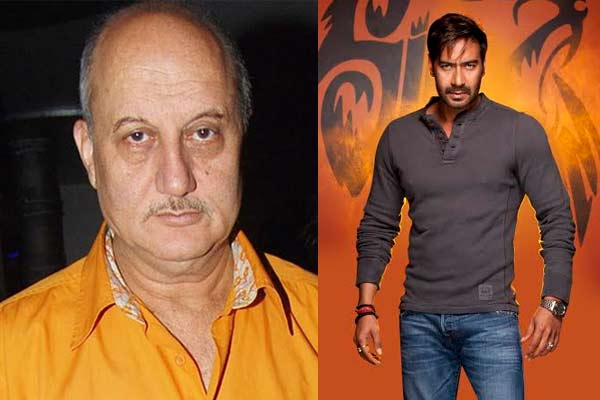 Ajay Devgn and Anupam Kher to come together in Singham 2!