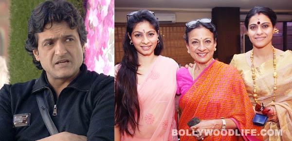 Tanishaa Mukherji chooses family over Armaan Kohli!