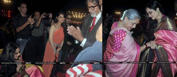 Amitabh Bachchan, Rekha and Jaya Bachchan come face to face - is Silsila finally over?