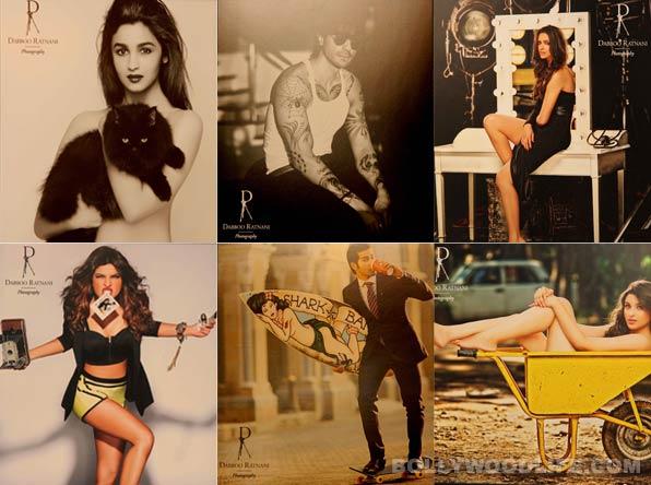 Dabboo Ratnani calendar 2014: Shahrukh Khan, Priyanka Chopra, Katrina Kaif and Deepika Padukone unleash their wild side!