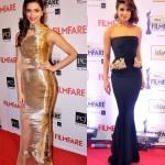 Deepika Padukone and Priyanka Chopra look ravishing on the Filmfare red carpet!