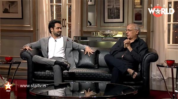 Koffee with Karan 4: Emraan Hashmi more entertaining than Salman Khan, Akshay Kumar and Aamir Khan!