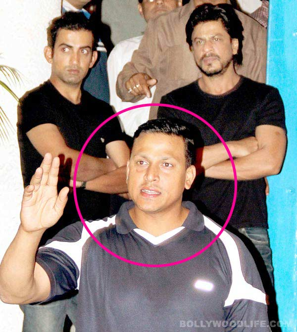 Did Shahrukh Khan's bodyguard misbehave with a lady?