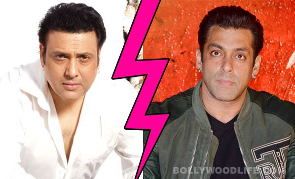 Why has Govinda refused to work with Salman Khan?