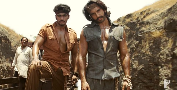 Is Gunday inspired by Amitabh Bachchan's Kaala Patthar and Deewar?