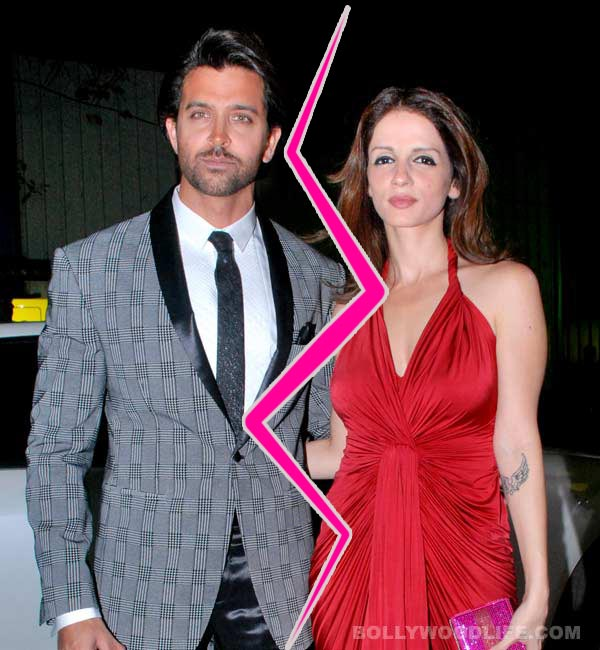 Hrithik Roshan and Sussanne celebrate New Year separately