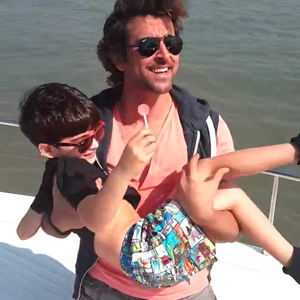 How is Hrithik Roshan celebrating his birthday? Watch video!