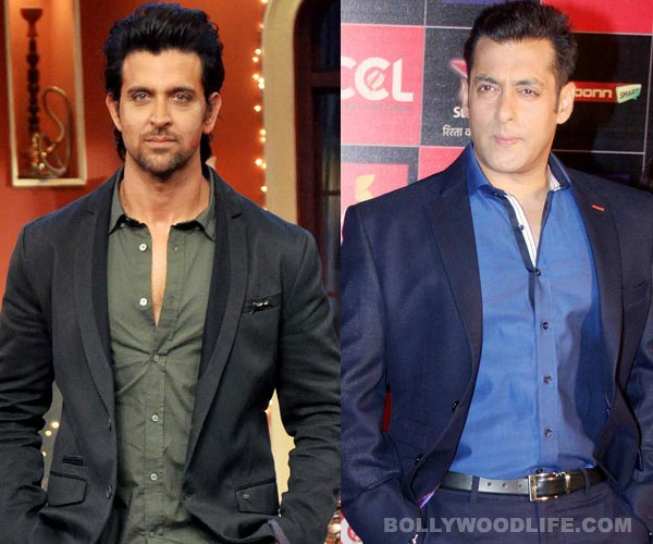Why did Hrithik Roshan spend 10 hours at Salman Khan's residence?