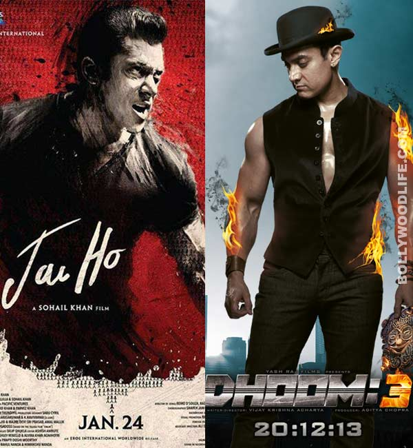 Trade buzz: Will Salman Khan's Jai Ho break Aamir Khan's Dhoom:3 record?