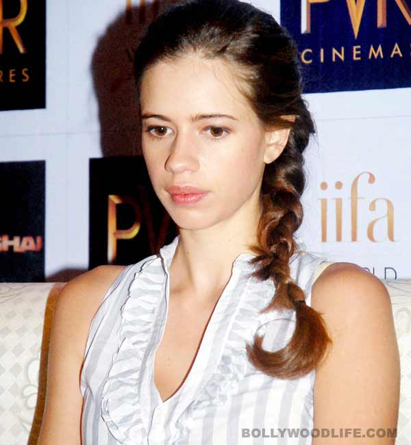 Why is Kalki Koechlin angry with the media?