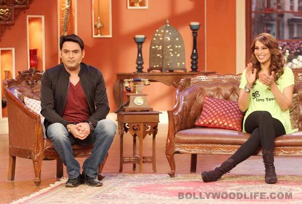 Comedy Nights With Kapil: Bipasha Basu turns fitness trainer for Kapil Sharma and family. View pics!