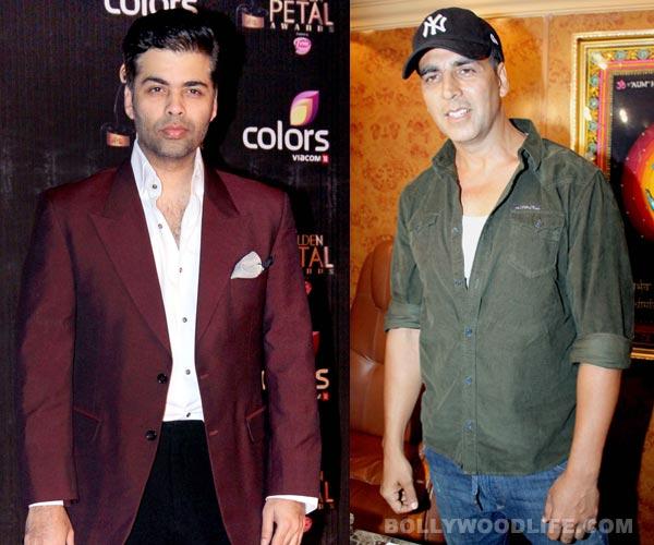 Karan Johar to team up with Akshay Kumar?