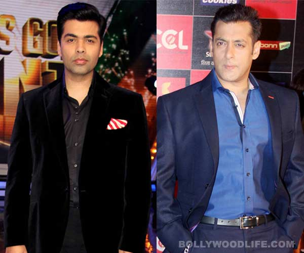 Karan Johar: I can't believe there are people who believed Salman Khan was virgin!