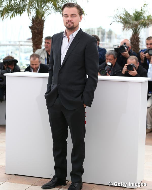 Why is Leonardo DiCaprio preparing to grow old?