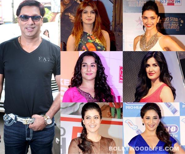 Priyanka Chopra, Deepika Padukone, Katrina Kaif, Vidya Balan - Who do you want to see in Madhur Bhandarkar's Madamji? Vote!