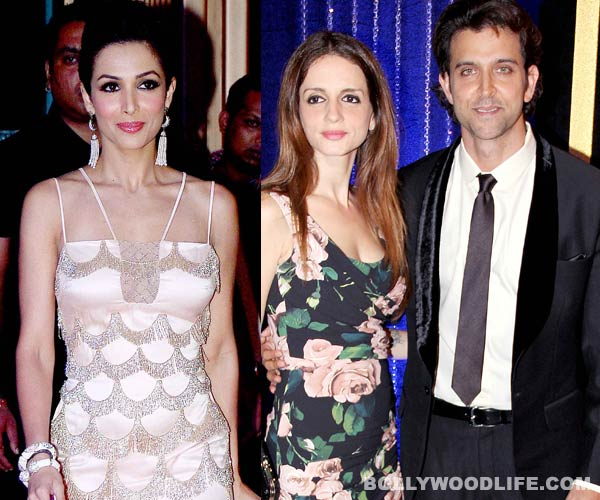 Post Hrithik Roshan-Sussanne split, Malaika Arora Khan comments on the challenges of celeb marriages!