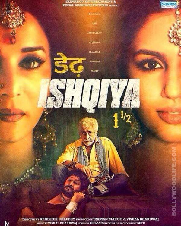 Dedh Ishqiya movie review: Madhuri Dixit-Nene is still magic!