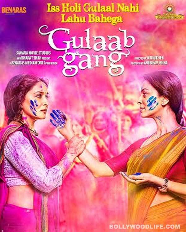 Madhuri Dixit-Nene's Gulaab Gang trailer crosses 1.5 million hits