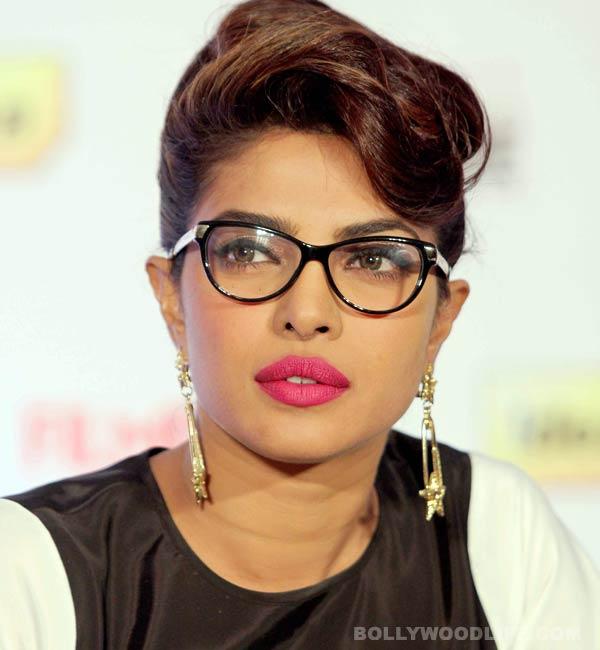 What happened to Priyanka Chopra while shooting for Gunday?