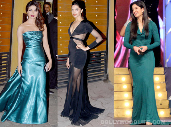 Katrina Kaif, Priyanka Chopra and Deepika Padukone: What should they wear at the Filmfare Awards 2014?