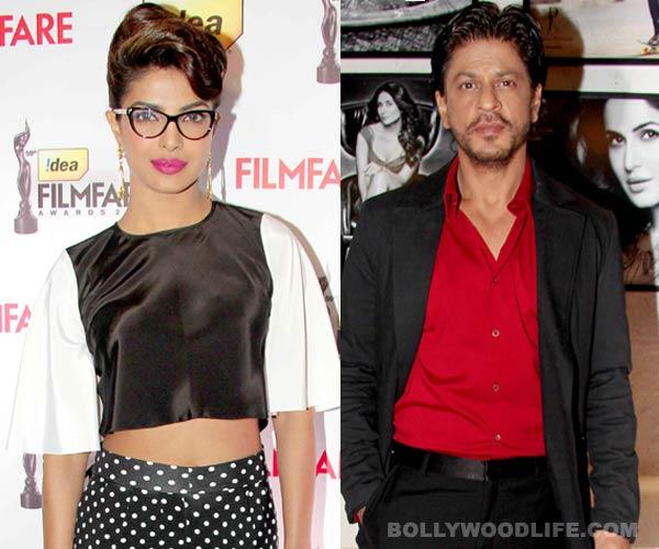 Priyanka Chopra steps into Shahrukh Khan's shoes!