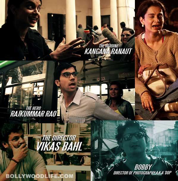 Making of Queen trailer: Watch Kangana Ranaut and Rajkummar Rao slogging it out!