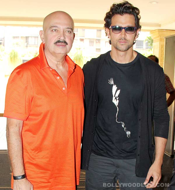 Is Rakesh Roshan miffed with Hrithik Roshan for separating with Sussanne Khan?