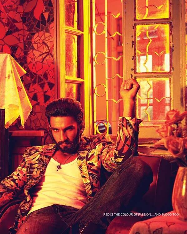 Ranveer Singh makes a drool-worthy goon!