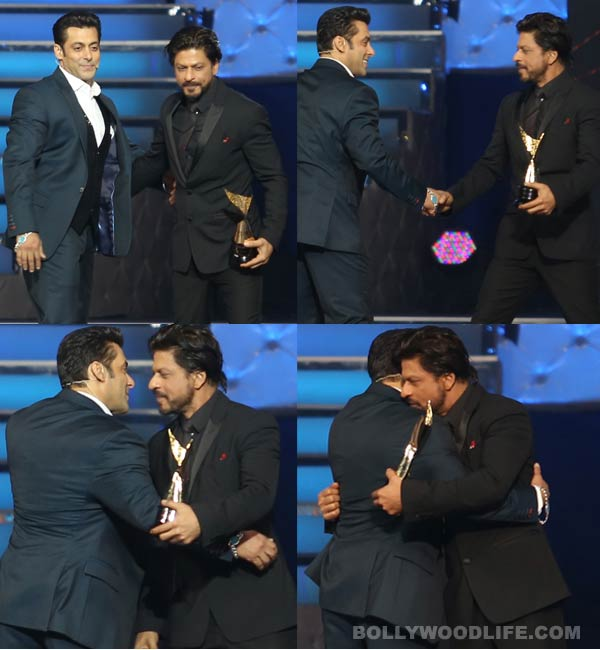 Salman Khan and Shahrukh Khan's three best hugs ever - View pics!