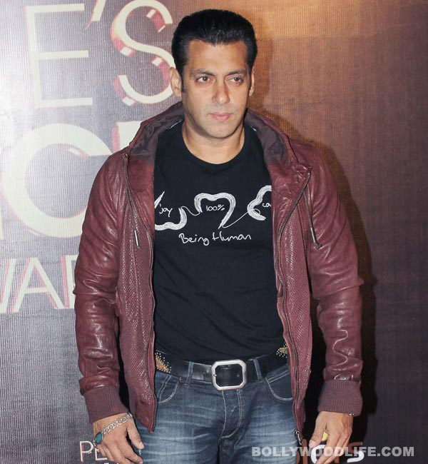 Why was Salman Khan embarrassed?
