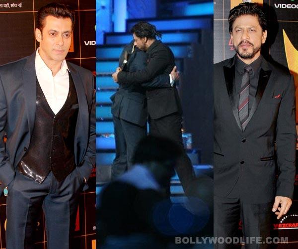 Did Salman Khan hug Shahrukh Khan for the promotions of Jai Ho?