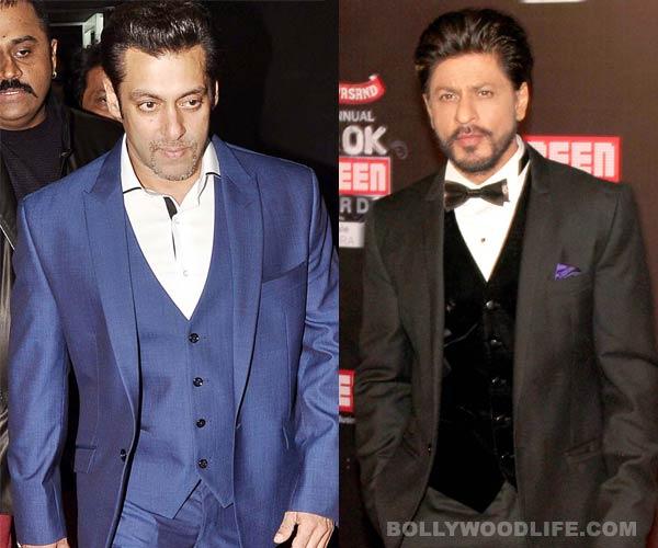 Did Shahrukh Khan not attend the Filmfare awards because of Salman Khan?