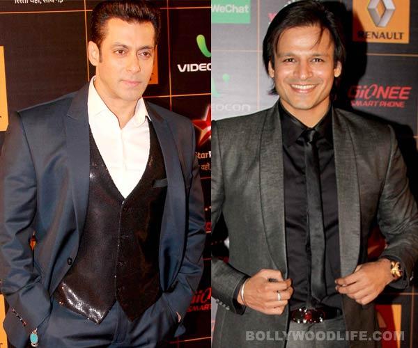 After Shahrukh Khan, Salman Khan hugs long time foe Vivek Oberoi