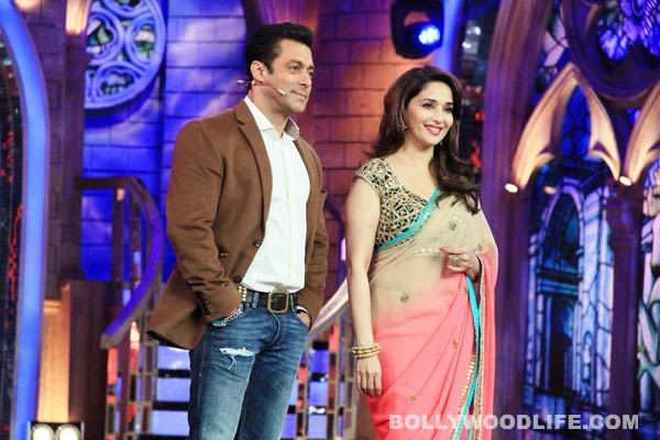 Why was the telecast of Madhuri Dixit-Nene and Salman Khan's performance at Saifai banned?