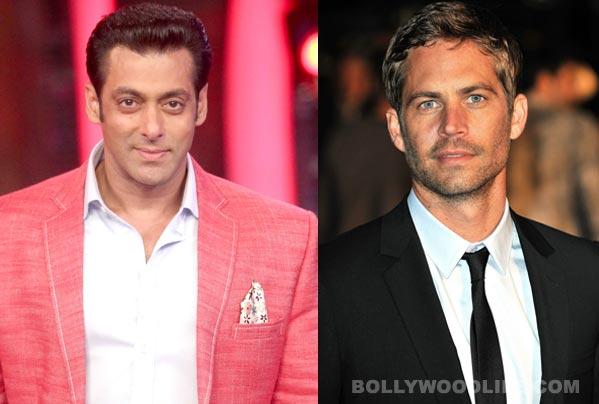 Why was Salman Khan disturbed by Paul Walker's death?