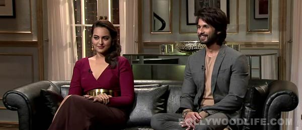 Are Shahid Kapoor and Sonakshi Sinha the new couple in Bollywood?