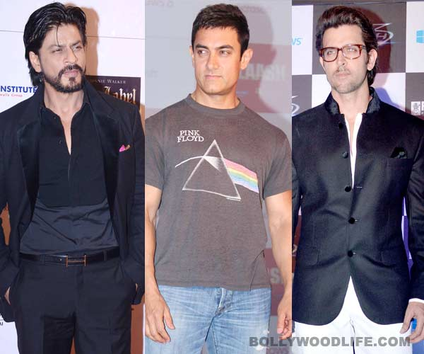 Shahrukh Khan beats Aamir Khan and Hrithik Roshan to emerge as the biggest entertainer of 2013!