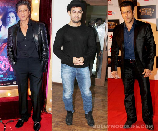 Is Shahrukh Khan planning to compete with Aamir Khan and Salman Khan on television?