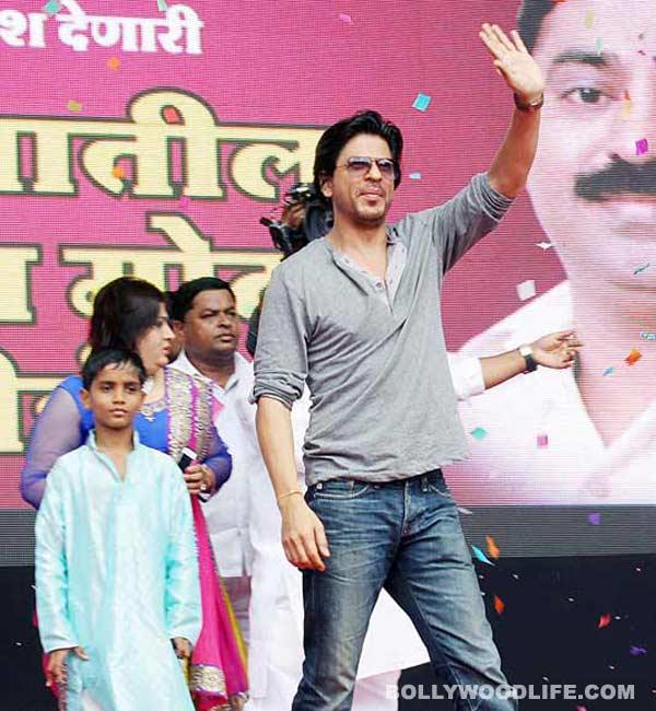 An injured Shahrukh Khan resumes Happy New Year shoot