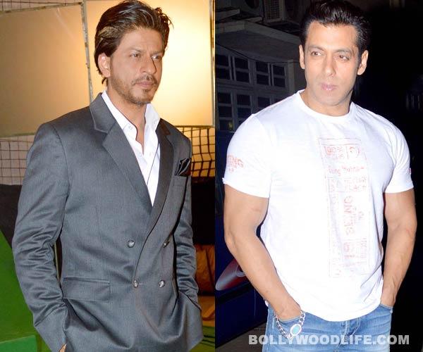 Does Salman Khan make Shahrukh Khan uncomfortable?