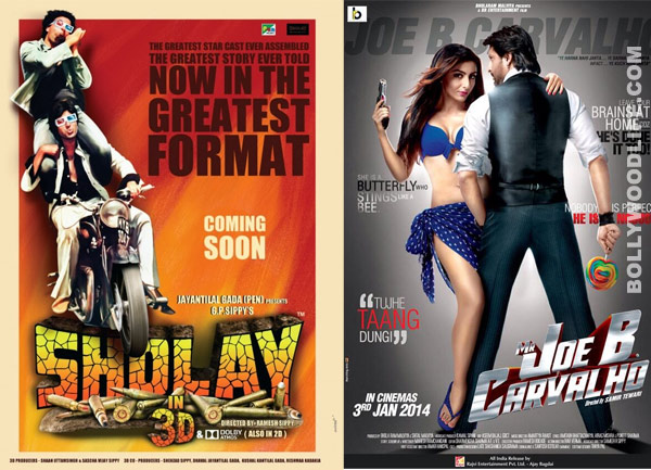 Box office report: Sholay 3D fares better than Arshad Warsi starrer Mr Joe B Carvalho