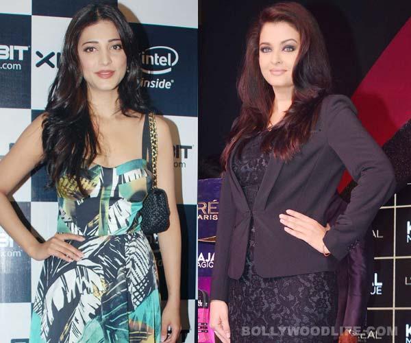 Will Shruti Haasan be a part of Aishwarya Rai Bachchan's comeback film?
