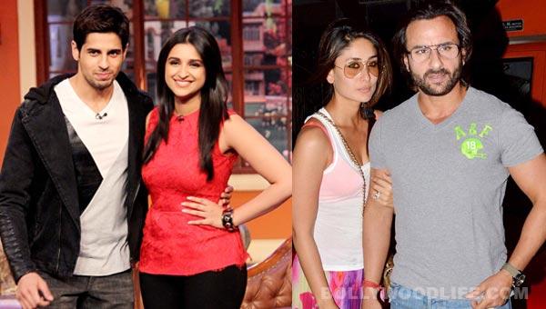 Are Parineeti Chopra and Sidharth Malhotra desperate to work with Kareena Kapoor and Saif Ali Khan?