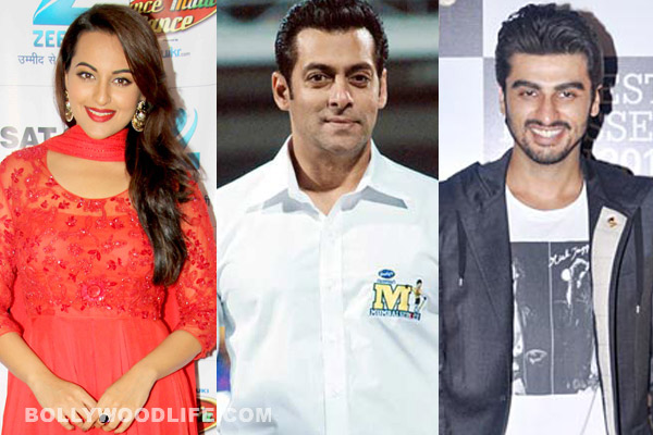 Is Salman Khan trying to bring Arjun Kapoor and Sonakshi Sinha closer together?