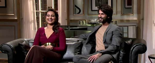Koffee With Karan 4: Shahid Kapoor's gandi baat with Karan Johar!