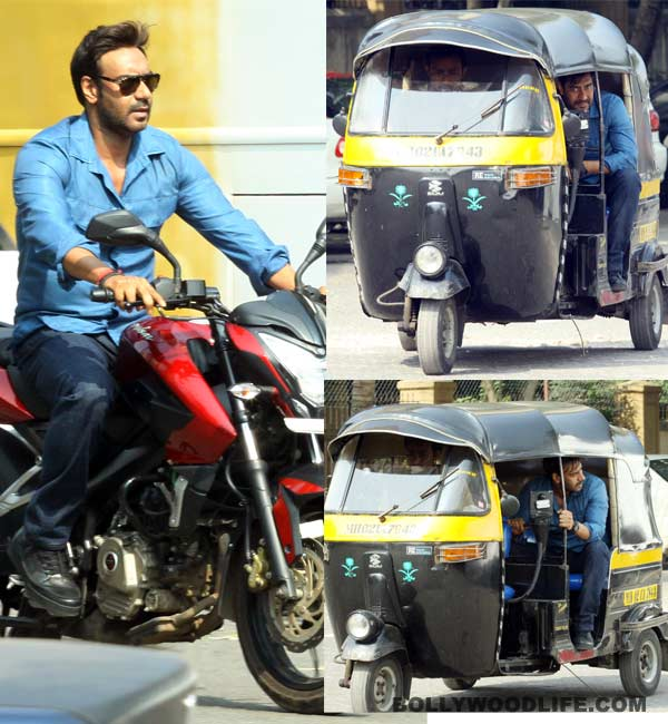 Is Ajay Devgn doing a Salman Khan in Action Jackson! View pics!