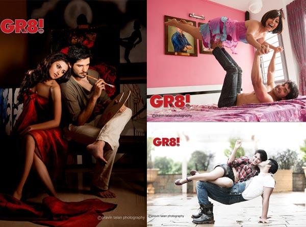 Gr8 calendar 2014: Raqesh Vashisht-Ridhi Dogra, Ravi Dubey-Sargun Mehta, Gurmeet Choudhary-Debina Bonnerjee celebrate romance, love and togetherness