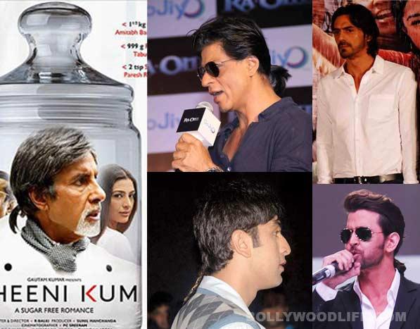 Amitabh Bachchan, Shahrukh Khan, Shahid Kapoor, Hrithik Roshan: Who wore the perfect ponytail?