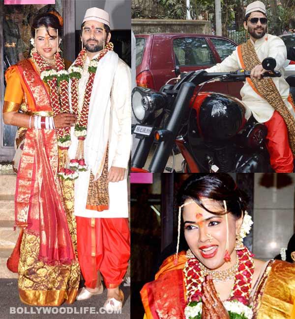 Sameera Reddy-Akshai Varde's wedding pics: Meet the traditional bride and the cool groom!