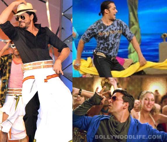Shahrukh Khan's lungi, Salman Khan's towel, Akshay Kumar's hookah: When stars had a little help....
